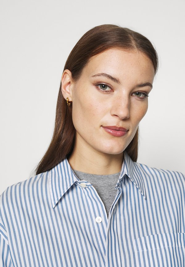 Hope SERENE SHIRT - Koszula - blue stripe/niebieski YCMD