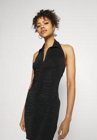 Gina Tricot - DOLLY HALTERNECK DRESS - Cocktail dress / Party dress - black - 3
