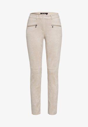 BIKER - Trousers - light camel