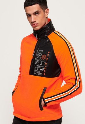 Bluza z polaru - orange