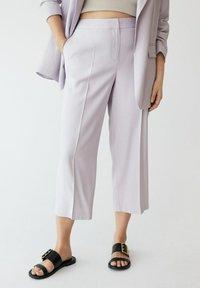 Violeta by Mango - FLOW8 - Trousers - lila - 0