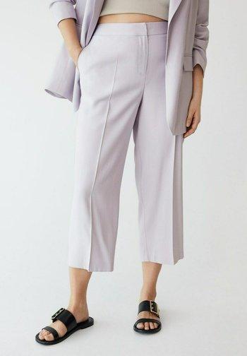 FLOW8 - Spodnie materiałowe - lila