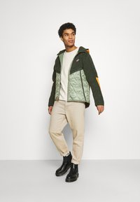 Nike Sportswear - WINTER - Winter jacket - vintage green/spiral sage/kumquat - 1