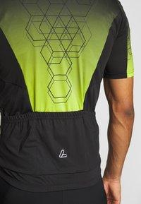 LÖFFLER - BIKE EVO - T-Shirt print - black/light green - 5