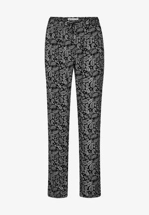 Tracksuit bottoms - black-white