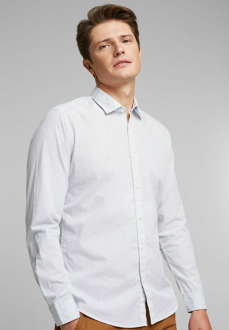 Esprit - Vapaa-ajan kauluspaita - white