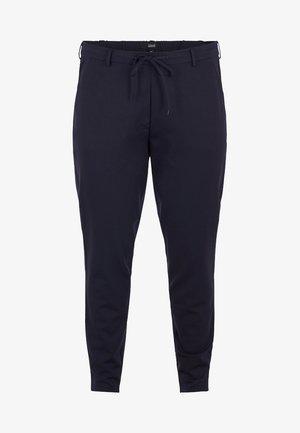 MIT NADELSTREIFEN - Pantalon de survêtement - dark blue