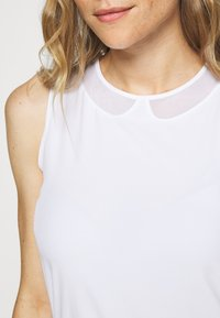 Nike Golf - FLEX ACE - Sports shirt - white - 4