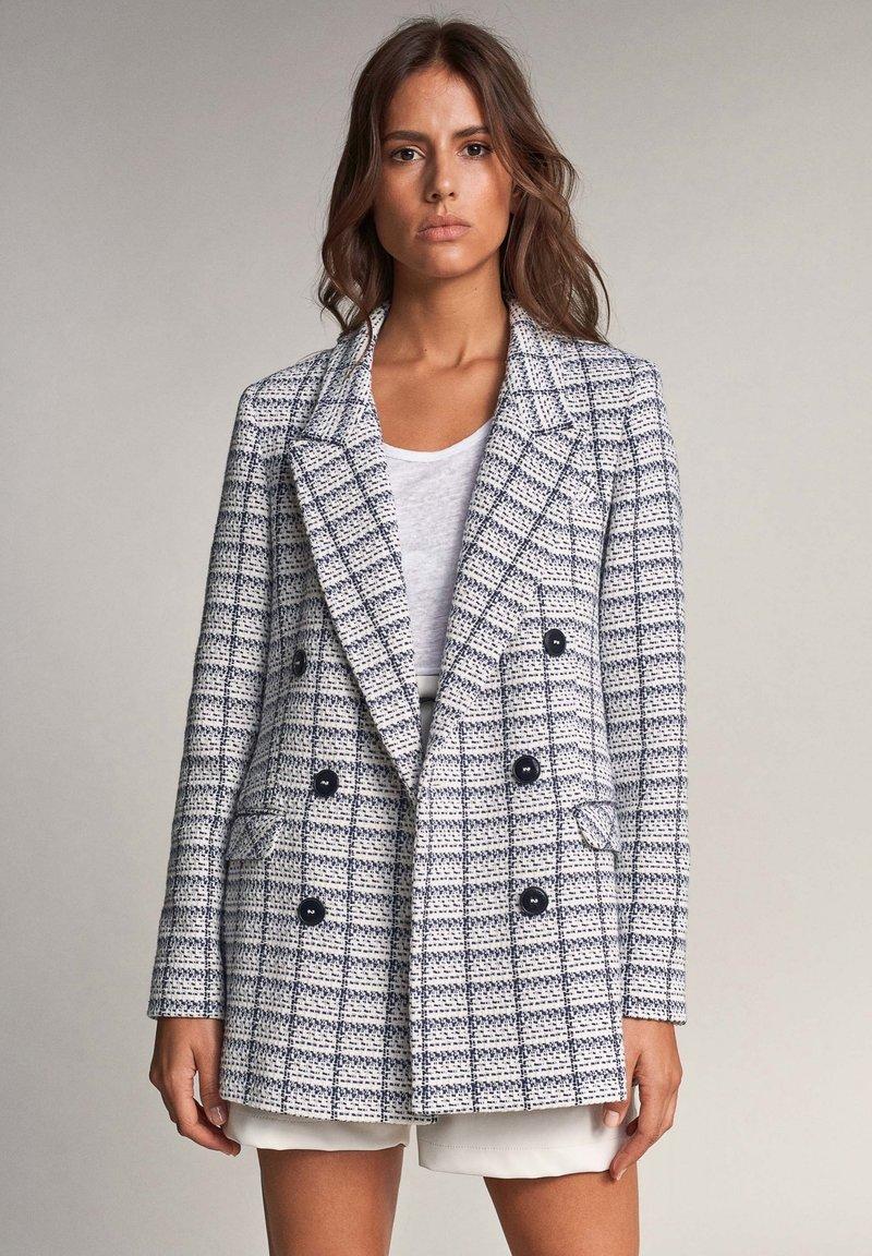 Salsa - LAPA  - Short coat - blau