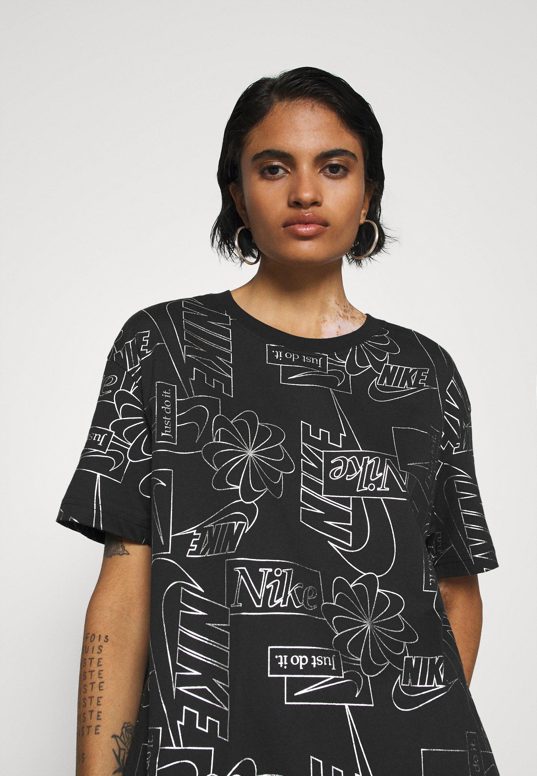 Nike Sportswear Tee Icon Clash - T-shirts Med Print Black/svart