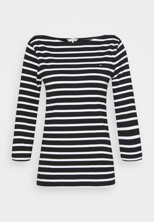 AISHA BOAT - Long sleeved top - black