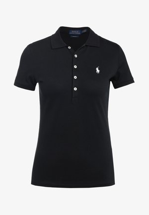 JULIE SHORT SLEEVE - Poloskjorter - black/white