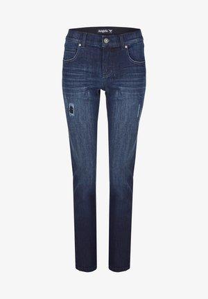 MIT MODISCHEN DETAILS - Straight leg jeans - dunkelblau