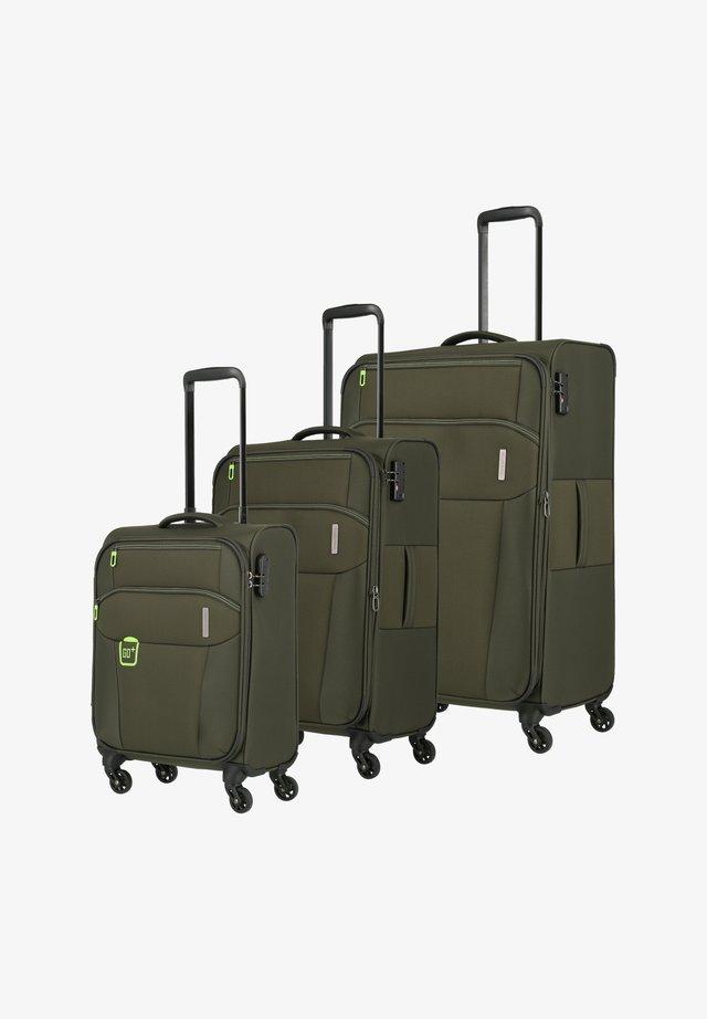 Luggage set - khaki
