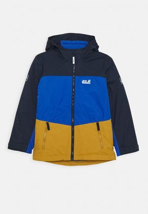 ARGON ICE 3IN1 JACKET KIDS - Hardshell jacket - golden amber