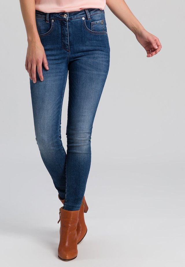 Jeans Skinny Fit - blue denim varied