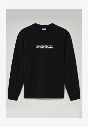 S-BOX LS - Long sleeved top - black