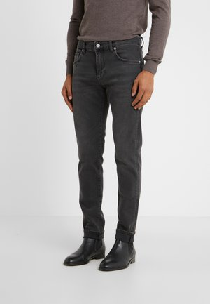 JAY KHOL - Slim fit jeans - black