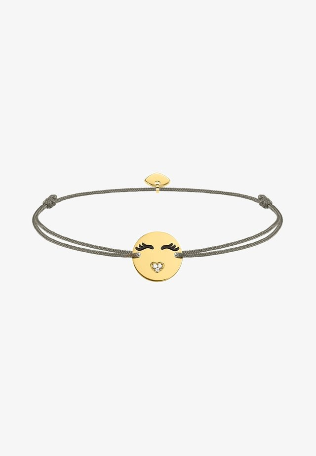 LITTLE SECRET EMOTICON MIT HERZMUND - Armband - multi-coloured