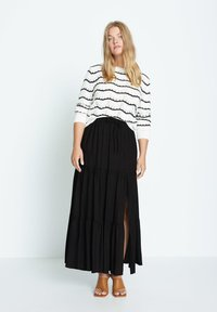 Violeta by Mango - SUMMER - A-line skirt - schwarz - 1