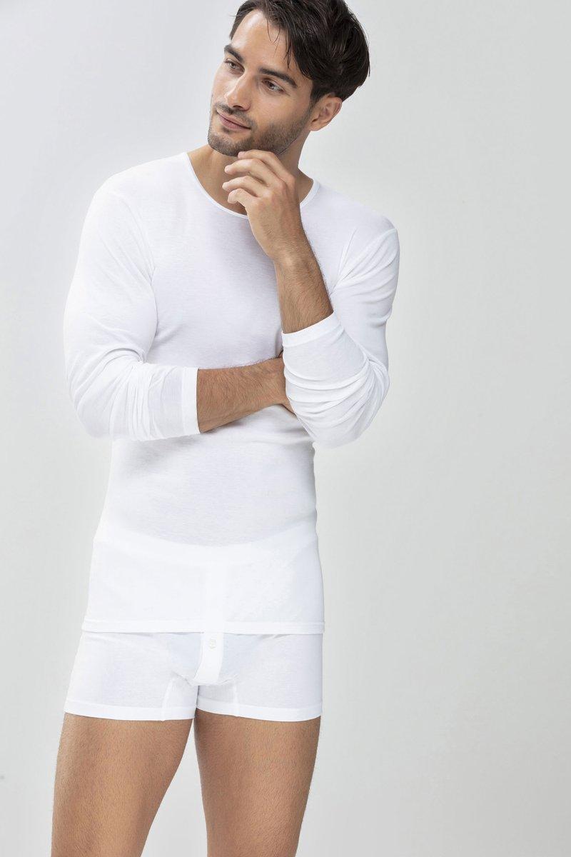 Mey - MIT FUNKTIONALEM RÜCKEN - Undershirt - white