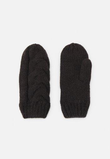 NORA MITTENS - Rękawiczki z jednym palcem - black out