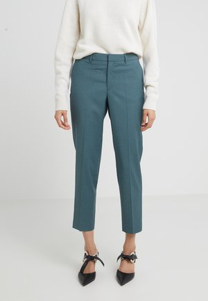 EMMA CROPPED COOL TROUSER - Stoffhose - river