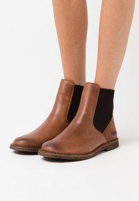 Kickers - TINTO - Ankle boots - orange - 0