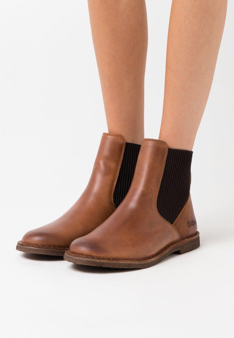 Kickers - TINTO - Ankle boots - orange