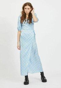 Vila - Maxi dress - cashmere blue - 0