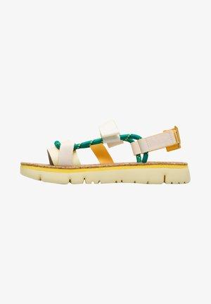 ORUGA - Sandals - gelb