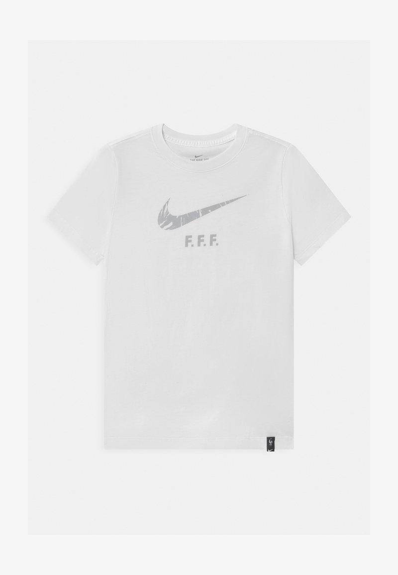 Nike Performance - FRANKREICH FFF GROUND - Voetbalshirt - Land - white