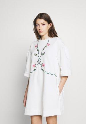 DRESS - Korte jurk - ecru