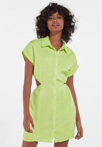 Bershka - Shirt dress - green - 0