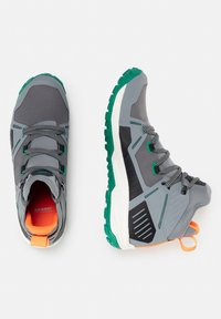 Mammut - SAENTIS PRO WP - Hiking shoes - granit light emerald - 1