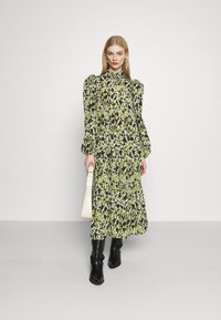 Never Fully Dressed - LEAF PANEL DRESS - Paitamekko - green