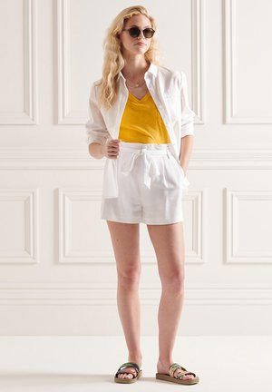 Print T-shirt - pigment yellow
