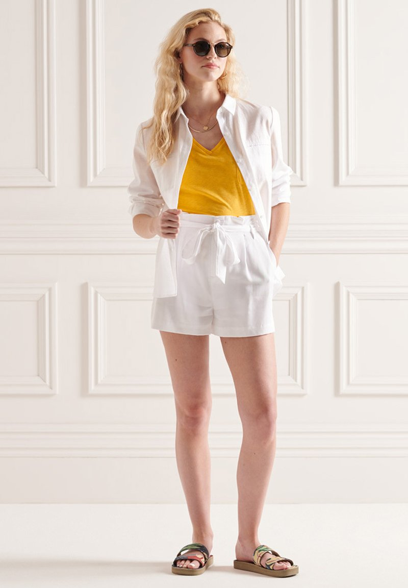 Superdry - Print T-shirt - pigment yellow