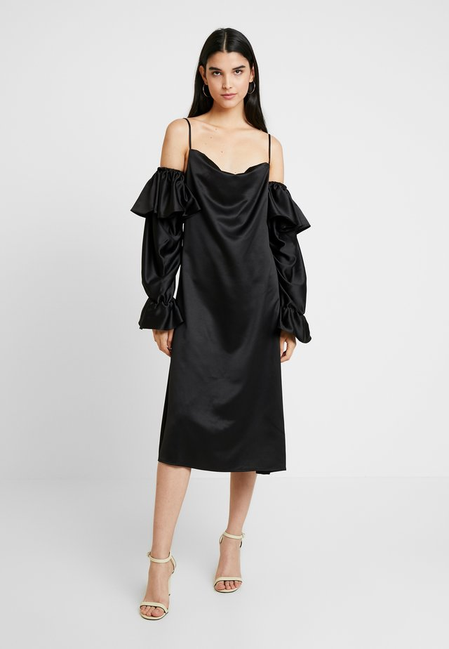 GAZZA DRESS - Korte jurk - black