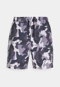 Fila - EVERIX SHORTS - Sports shorts - grey - 0