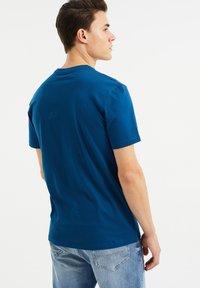 WE Fashion - Print T-shirt - navy blue - 2