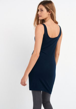 LONGLINE THICK STRAP  - Top - blue