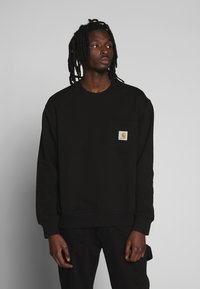Carhartt WIP - POCKET - Sweatshirt - black - 0
