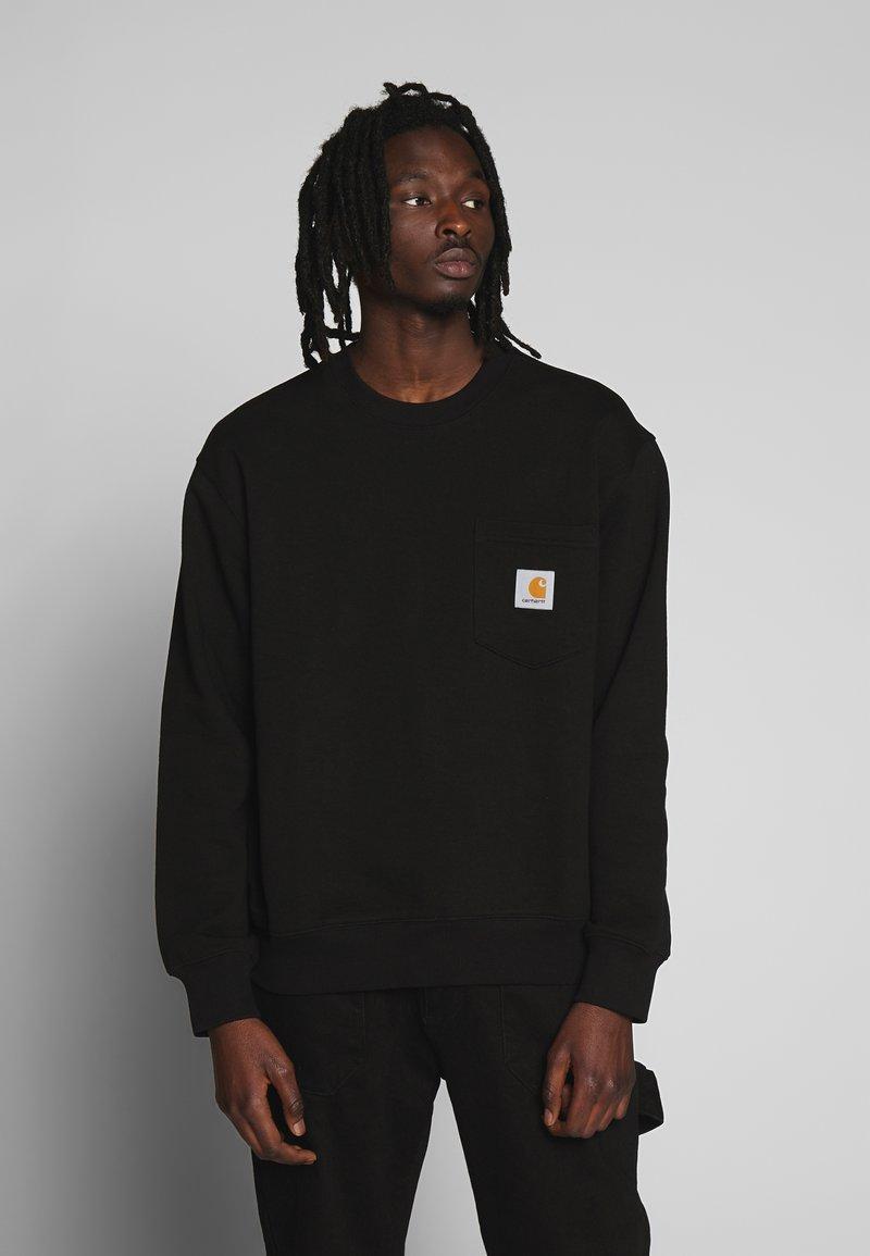 Carhartt WIP - POCKET - Sweatshirt - black