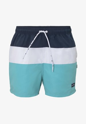 NIGHTWEAR GESTREIFTE BADESHORTS - Swimming shorts - dress blue