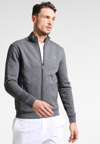Lacoste Sport - Zip-up hoodie - pitch - 0