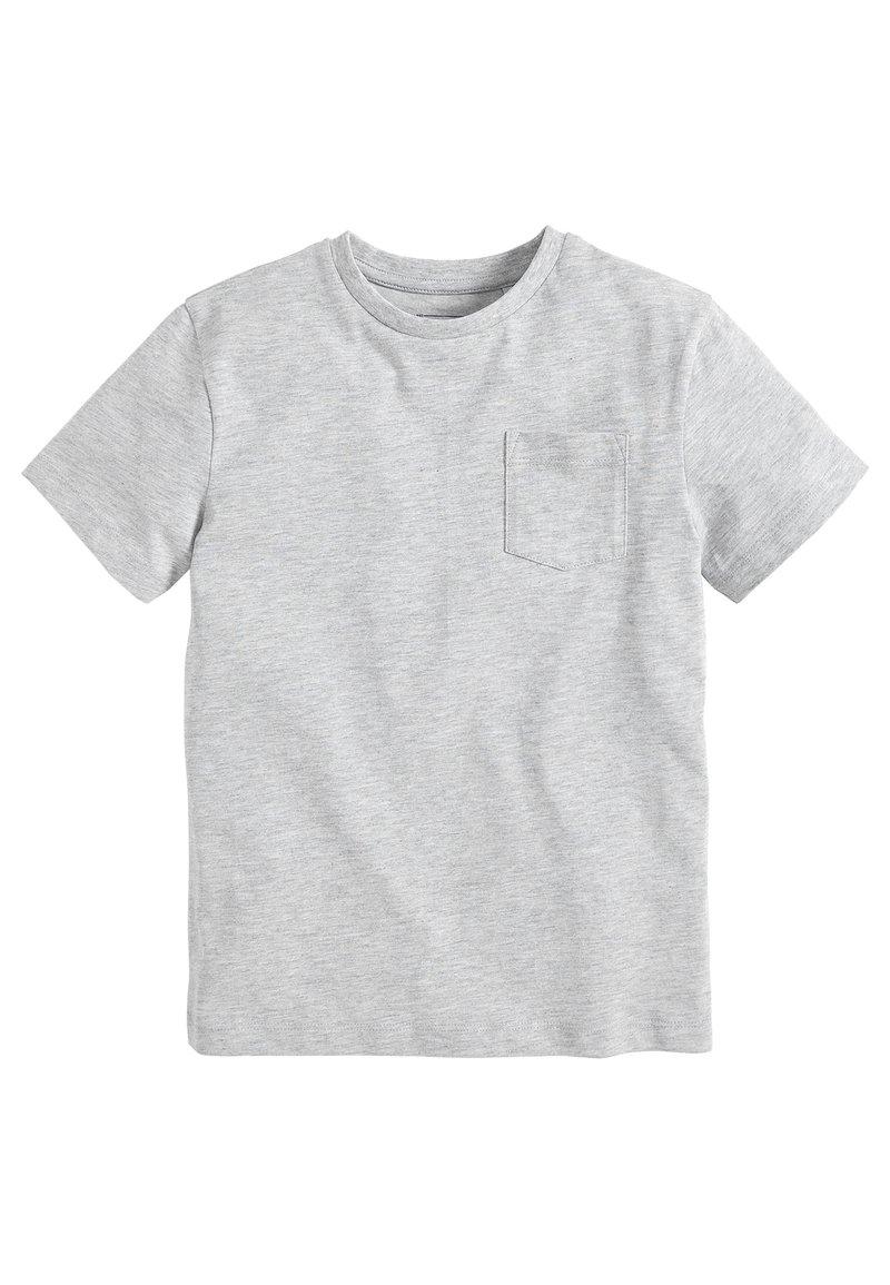 Next - Basic T-shirt - mottled grey