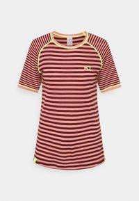 Kari Traa - SMALE TEE - Print T-shirt - bordeaux - 0