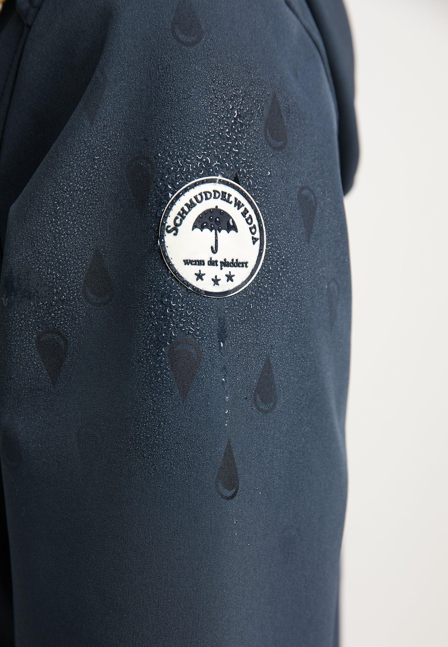 Schmuddelwedda Regenjacke / wasserabweisende Jacke marine/blau