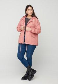 Zizzi - Outdoor jacket - rose - 1